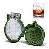 3D Grenade Shape Ice Cube Mold, silicone cake Mold, Ice Cream Trays Mold for Great bar party Gift e utensili da cucina