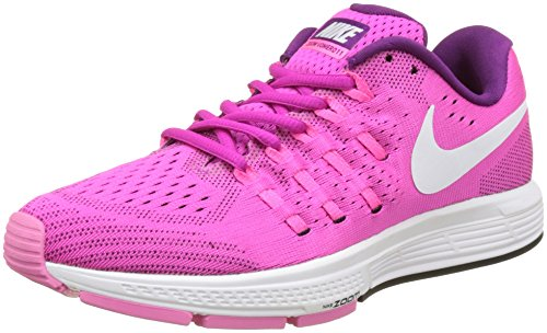 Nike 818100-602, Scarpe da Trail Running Donna Rosa (Fire Pink/weiß/bright Grape Violett/schwarz)