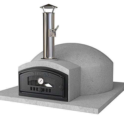Vitcas DIY Wood Fired Pizza Oven Kit - Build Your Own Pompeii 80 Outdoor Oven
