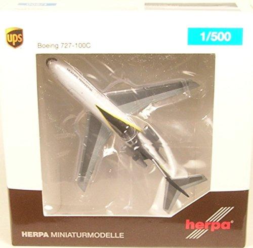 Herpa 530873 Fahrzeug UPS Airlines Boeing 727-100C-N936UP