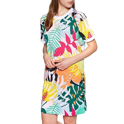 adidas Originals Tee Dress UK 14 Reg Tropical Print