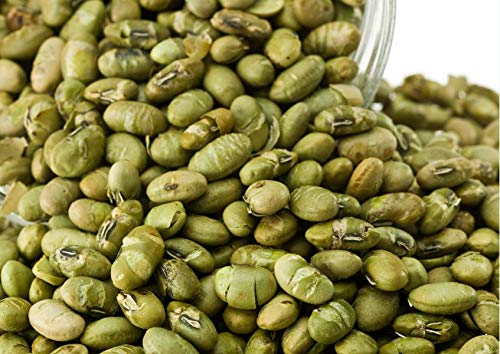 Dorimed - Edamame Bohnen, Sojabohnen, geröstet, leicht gesalzen, 1 kg