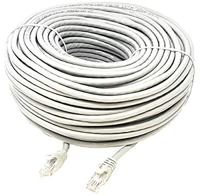 Mr. Tronic Câble de Réseau Ethernet | CAT6, AWG24, CCA, UTP, RJ45 | Color Gris de Mr. Tronic