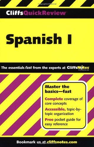 Spanish: Level 1 (Cliffs Quick Review S.) por Jill Rodriguez