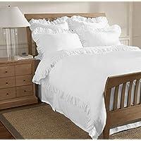 Suchergebnis Auf Amazonde Für Bettwäsche Weiß Rüschen Bettbezüge