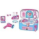 #1018 Disney Frozen Schminkkoffer mit viel Zubehör • Kinder Schmink Koffer Kosmetik Spielzeug Schminke Beauty Case Set