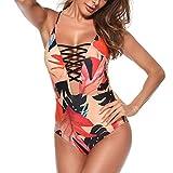 Maillots Une pièce de Bain Bikini,LuckyGirls Femme Maillot de Bain 1 Pièce...