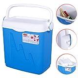 Curver Kühlbox 20L 43x26x40cm weiß-blau Kühltasche Eisbox Eiskiste Kühlkiste
