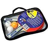 Hudora, Set da ping-pong New Contest: 2 racchette, 3 palline