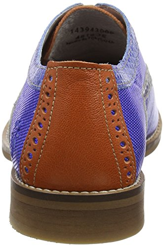 FLY London Eile943, Brogues Femme Orange (Cobalto/Orange 009)