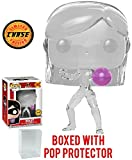 FunKo Pop! Disney Pixar: Incredibles 2 - Figurine Vinyle édition Limitée Chase Variant Invisible Violet (Empaquetée avec étui de Protection Pop Box)