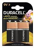 #9: Duracell Alkaline 9-Volt Batteries (Pack of 2)