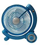 #7: CITRAJY SUPER 5880 Powerful Rechargeable Table Fan with 21SMD LED lights, assorted
