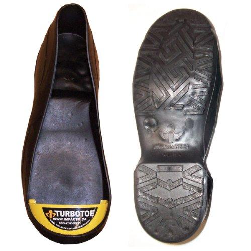 Impacto Turbotoe - Protector flexible con punta de acero para zapatos, tamaño...