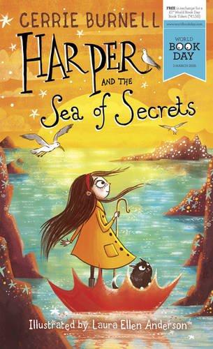 book cover of Harper and the Sea of Secrets