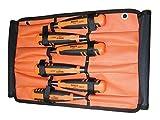 Bahco 424P-S6-ROLL Set de ciseaux à bois Argent/Orange/Noir