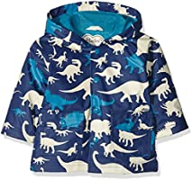 Hatley Baby-Jungen Regenmantel Infant Raincoat-Silhouette Dinos