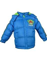 Garçons Angry Birds Hiver Puffer Blouson / Doudoune à capuche Bleu