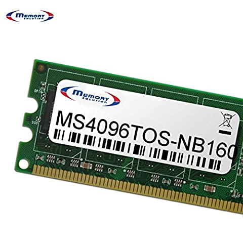 Memorysolution 4GB Toshiba Satellite C70-D series, MS4096TOS-NB160
