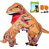 13e5c889332e VAMEI 2pcs Dinosauro Gonfiabile T-Rex Costume Gonfiabile Adulti Bambini Fancy  Dress Costumi Halloween Divertente