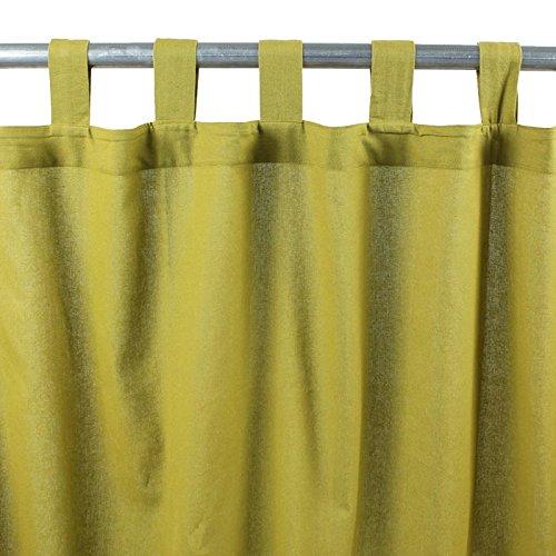 Thedecofactory 150309 Rideau, Coton, Mousse, 150 x 250 x 3 cm