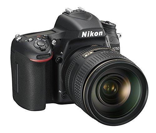 Nikon D750+ NIKKOR VR 24/120SLR Digitalkamera, 24,3Megapixel, 8GB SD 400x Lexar, black [Nikon Karte: 4Jahre Garantie]