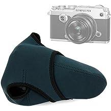 DURAGADGET Funda de neopreno reversible para Cámara Fujifilm X-T2 / Panasonic Lumix GX80 / Sony RX10 III