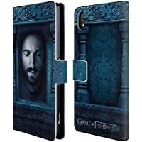 Official HBO Game Of Thrones Daario Naharis Faces 2 Leather Book Wallet Case Cover For Sony Xperia Z2