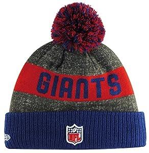 Era Nfl Sideline Bobble Knit Jr Neygia Otc - Schirmmütze Linie York Giants für Jungen, Farbe Blau, Einzelgröße by New Era