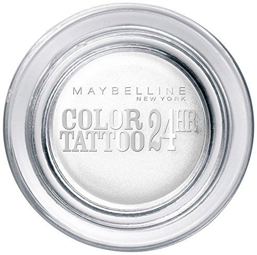 Maybelline New York Lidschatten Eyestudio Color Tattoo 24h Infinite White 45 / Gel-Cream Eyeshadow...