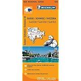 Carte Suisse Sud-Est Michelin