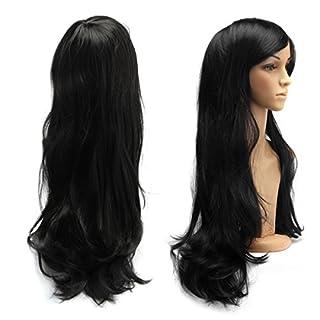 AISHN 70cm Cosplay Spiral Curly Perücke Voll Wig Fairy Tale Elza Cosplay oder Schaufensterpuppen Karneval