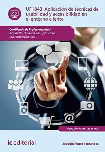 Aplicación de técnicas de usabilidad y accesibilidad en el entorno cliente. FCD0210 por Joaquín Pintos Fernández