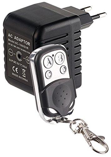 OctaCam Versteckte Kamera: USB-Netzteil mit Integrierter Full-HD-Kamera und Fernbedienung, 500 mA (USB Ladegerät mit Kamera)