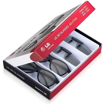 LG AG-F314 4 paires de lunettes 3D