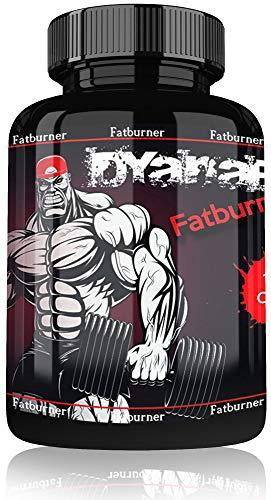 Dyanabol Fatburner by VargPower | 100 Kapseln | Hochdosiert | Geeignet für Definition Abnehmen Stoffwechsel Anregen Fettverbrenner Diät | Extreme Fatburner Schnell und Wirksam | Made in Germany