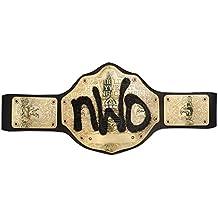 553d3dfee4a5 WWE – Ceinture NWO Insigne d honneur du Championnat WCW, Multicolore  (Mattel Spain