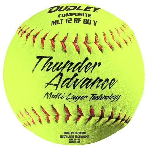 ce 30,5cm Slow Pitch Softball–Composite Cover–12Stück ()
