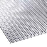 Polycarbonatplatte, 4mm und 10mm dick, 915mm breit