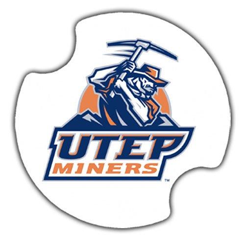 Thirstystone Thirstystone University of Texas El Paso Car Cupholder Coaster, 2-Pack - Car Coaster