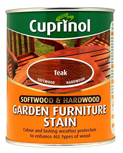 CUPRNOL 5158524 Garden Furniture Stain Exterior Woodcare, Teak