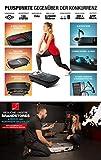 Privat: Sportstech Profi Vibrationsplatte VP300 mit 3D Wipp Vibrations Technologie, 2x1000W max Motoren Leistung + Bluetooth Musik, Riesige Fläche, einmaliges Design + Trainingsbänder + Fernbedienung + Poster - 4