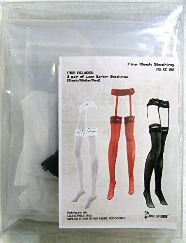 Dolls Figure 1/6 Figure Costume Lace Stockings 3 color set (DOLLSFIGURE CC79) (japan import) 2rFzeQj5ql