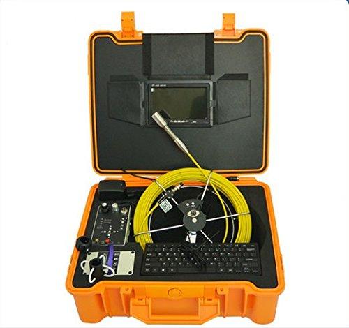 GOWE chimenea aire tubería de conducto inspección cámara con cable de 50m y DVR función Sensor tamaño: 1/4'; horizontal Resolución: 480TVL; Sistema de señal: PAL