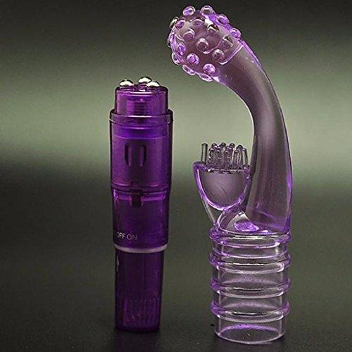 Sunheit Massagegerät Erotik G-Punkt-Dildo Stimulator für Frauen Kitzler - 5