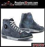Scarpe uomo moto Tcx X-street Waterproof blu 45