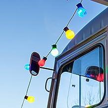 Guirnalda de luces LED de 30 piezas multicolor, modelo Fiesta de LIGHTS4FUN