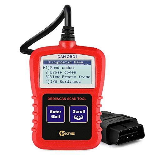 Scanner Motor-code (Obdii Code Reader KC10 Auto Diagnostic Scanner Lesen / Löschen Trouble Codes Ausschalten Motor Licht Unterstützungen Alle nach 1996 OBD2 16Pin Protokolle Benzin Autos)