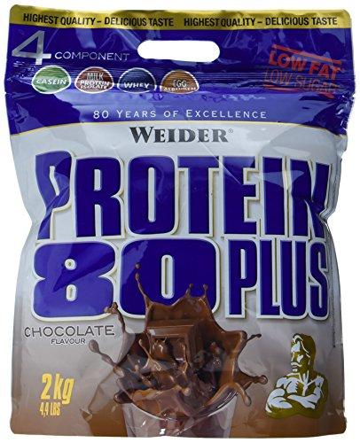 Weider, 80 Plus Protein, Schoko, 1er Pack (1x 2kg)