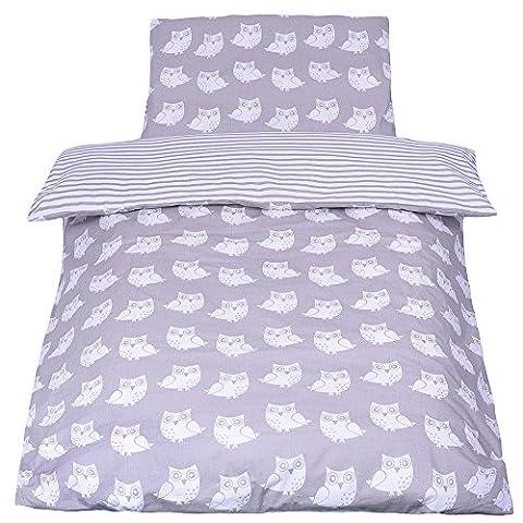*NEW* Parure de lit bébé avec DESIGN REVERSIBLE - 2